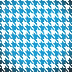 Freebie Week: Ombre Houndstooth!