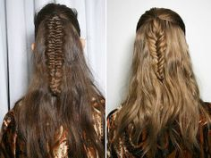 weekend hair: THE BOHO FISHTAIL | bellaMUMMA