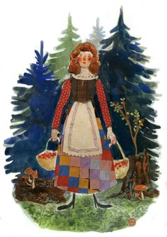 The Huckleberry Harvest by Phoebe Wahl