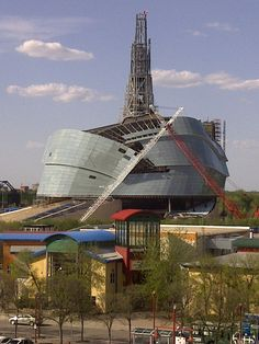 Canadian Museum of Human Rights, Winnipeg, Canada - under construction