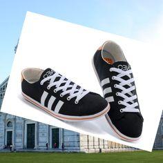 Adidas Originals Stile NEO Scarpe da Uomo Nero/Arancione