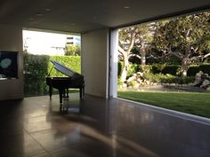Piano Lounge, living room, and awesome view. #style #living