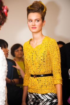 OSCAR DE LA RENTA SPRING 2013 - PHOTO BY www.nathankraxberger.com