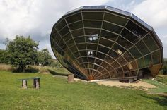 Heliodome, huis gebouwd rond zonne-energie