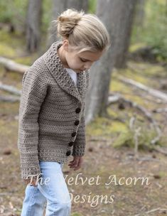 Listing for CROCHET PATTERN ONLY of The Keldyn Cardigan. This gender neutral sweater is designed with a shawl collar and easily adjusted for length. Sizing includes child 1/2 through adult 4xlarge. This piece is handcrafted and designed with comfort and warmth in mind…Perfect layering
