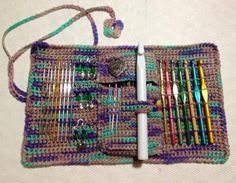 Looking for crocheting project inspiration? Check out Crochet Hook Case by member crochet4fun.