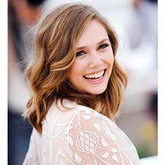 Elizabeth Olsen - hair color