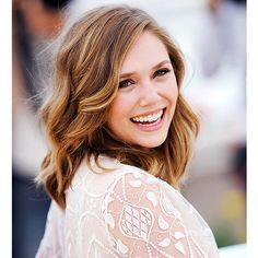 Elizabeth Olsen - hair color