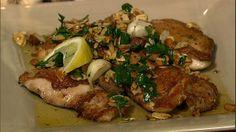 the chew | Recipe  | Michael Symon's Chicken Amandine