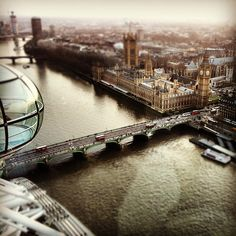 London Eye - View from the top
