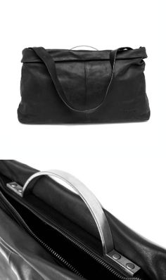 Vic Matié | Leather Bag with Metal Handle