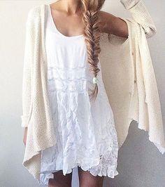 #summer #fashion / creme