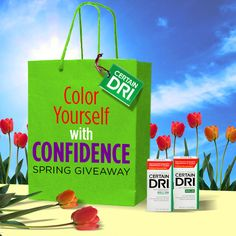 5 Winners from Certain Dri in their Spring Giveaway!