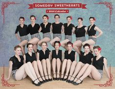 Someday Sweethearts 2016 Calendar Photos by @Auey Santos of Photograffiti #SomedaySweethearts #ChorusGirls
