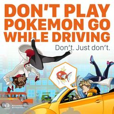 Pokemon GO Safety Tips http://geekxgirls.com/article.php?ID=7490
