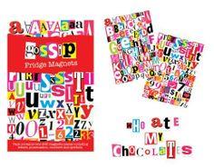 Gossip Fridge Magnets by The Monster Factory, http://www.amazon.co.uk/dp/B00402JNCA/ref=cm_sw_r_pi_dp_7Cietb0334GCG