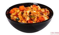 Pui Gong Bao Asian Recipes, Ethnic Recipes, Bao, Sweet Potato, Pork, Vegetables, Kale Stir Fry, Vegetable Recipes, Pork Chops