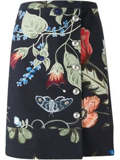Gucci 'flora Knight' Skirt - - Farfetch.com