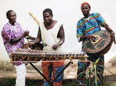 """""""We are musicians our vision is to bring the joy of connection through African music.""""- The Toumaranke Band"""