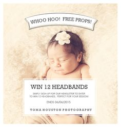 Win 12 Headbands! | Toma Houston Photography -Blog