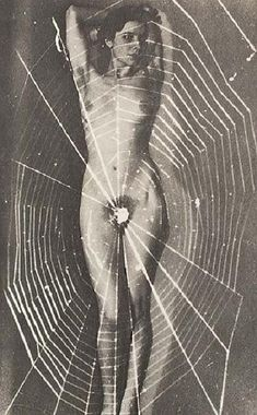 Spider woman by man Ray
