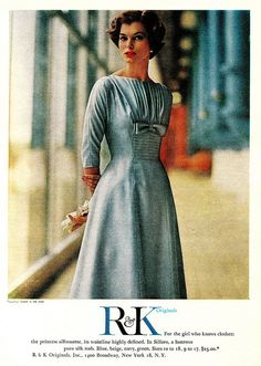 """Dress by R Originals    """"McCall's""""  March 1959"""