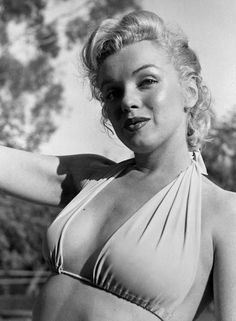 Iconic Moments of Marilyn Monroe in Bikini and Swimsuit from between the 1940s and 1960s