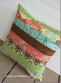 Moda Botany Jelly Roll Pillow Slipcover