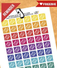 Free planner stickers Archives - Lovely Planner