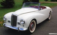 ~1953 Sunbeam Alpine Sport Roadster~this makes me laugh!