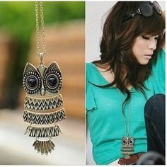 Bronze To Restore Ancient Ways Owl Pendant Necklace Sweater Chain Fashion Jewery.Free Shipping♦️ SMS - F A S H I O N 💢👉🏿 http://www.sms.hr/products/bronze-to-restore-ancient-ways-owl-pendant-necklace-sweater-chain-fashion-jewery-free-shipping/ US $0.47