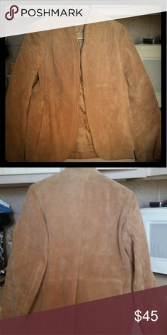 Selling this Ladies vintage authentic suede jacket on Poshmark! My username is: queenofsparta1. #shopmycloset #poshmark #fashion #shopping #style #forsale #Jackets & Blazers