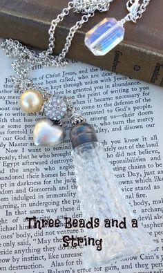 Vintage Assemblage Salt Shaker Necklace with Vintage Bobbles