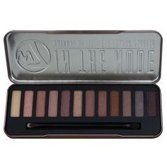 W7 Cosmetics In the Nude paleta očních stínů s aplikátorem (12 Eye Shadows) 15,6 g