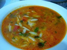 Good morning, we wish you a good week. Soups are the best saviors in cold weather. Armenian Recipes, Turkish Recipes, Ethnic Recipes, Greek Cooking, Cooking Time, Turkish Kitchen, Homemade Beauty Products, Light Recipes, Food Dishes