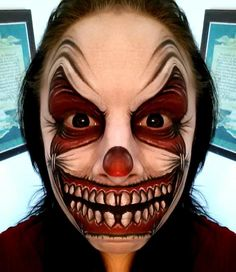 Catherine Pannulla || crazy clown