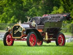 1909 Buick Model-F Touring Maintenance of old vehicles: the material for new cogs/casters/gears/pads could be cast polyamide which I (Cast polyamide) can produce