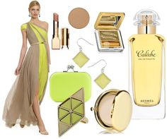 Toned Spring. These colors are not for me but interesting to think about. Neon green chartreuse neutral beige