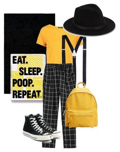 A fashion look from February 2018 featuring yellow crop top, checked trousers and converse shoes. Browse and shop related looks. Saks Fifth Avenue, Boohoo, Polyvore Fashion, Mango, Kate Spade, Converse, Shoe Bag, Clothing, Stuff To Buy