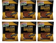 Oh Boy Oberto All Natural Bacon Jerky 100 Real Bacon 6 Pack of 267 Oz SCS * Check out this great product.