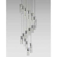 Radionic Hi Tech Monroe 18 Light Cascade Pendant