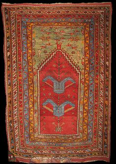 Galerie KELIM ·Zentralanatolien Carpet, Central Anatolia, Kavakli, 19th ct. 216 x 147 cm