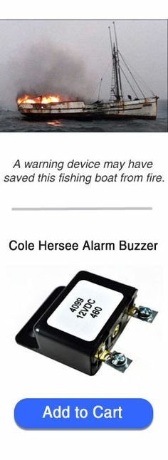 Cole Hersee 4099 Universal Buzzer is an awesome part that you need. Make any switch have an alarm. Temp, pressure, high water....great for boats, machinery, buses, rv's.