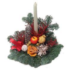 Élőfenyős sírdísz fatalpon - törtfehér - Szárazvirág díszek webáruháza Christmas Wreaths, Holiday Decor, Home Decor, Decoration Home, Room Decor, Advent Wreaths, Interior Decorating