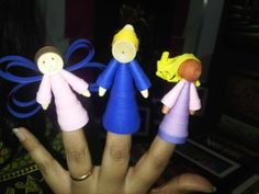 Quilled Finger Puppets