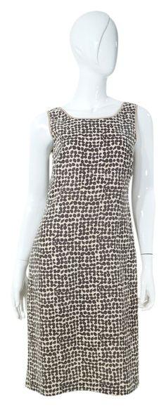 Max Mara Print Brown & Cream Sleeveless Sheath Mid-length Short Casual Dress Size 4 (S) Brown Leather Belt, Luxury Fashion, Fashion Tips, Max Mara, Mid Length, Sheath Dress, Casual Shorts, Fashion Accessories, Designer Clothing