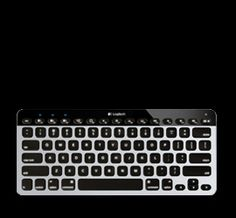 Logitech Wireless Backlit Keyboard Mac iOS- amazing keyboard that allows you to connect three different bluetooth devices.