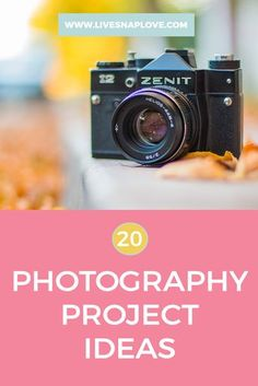 Are you in need of some new photography project ideas?  Here are 15 ideas to improve your photography, kick start your creativity and document your days!  If you have been shooting for a few years like myself, it can start to feel like you are simply photographing the same things, in the sa