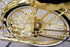 Gold #bicycles, #bicycle, #pinsland, https://apps.facebook.com/yangutu