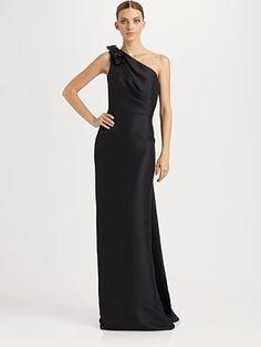 Pretty black gown